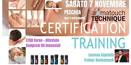 PESCARA Corso AromaTouch Technique dōTERRA biglietti