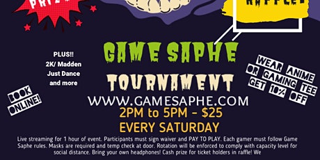 Game Saphe Tournaments tickets