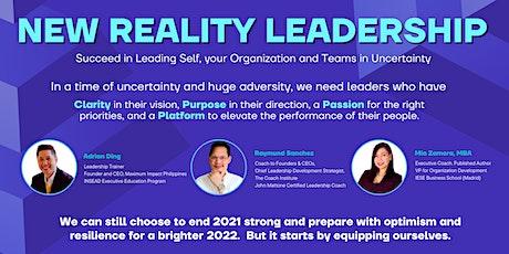 New Reality Leadership tickets