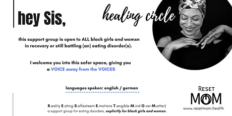 HEALING CIRCLE for black girls and womxn in eating disorder recovery tickets