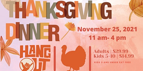 Thanksgiving Day at The Hangout tickets