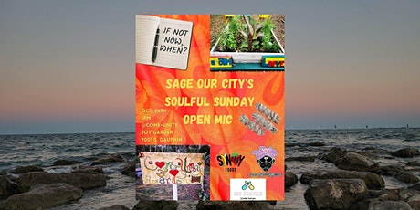 Sage Our City/ Soulful Sunday Open Mic tickets