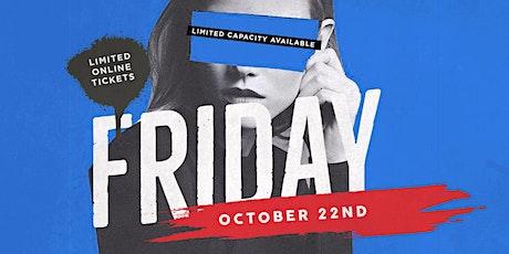 Fiction Fridays @ Fiction | Fri Oct 22 | $400 Boot tickets