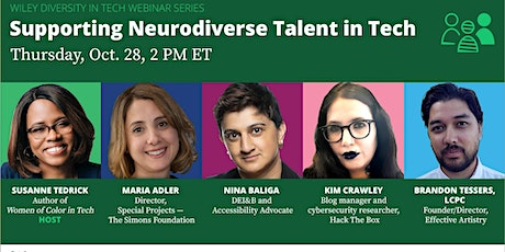 Supporting Neurodiverse Talent in Tech tickets