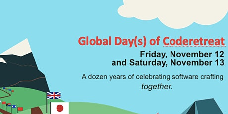 GLOBAL Day of Code Retreat - ONLINE - November 12 and 13th tickets