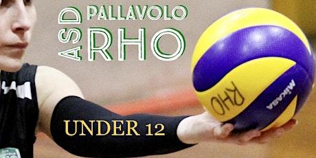 Amichevole UNDER 12 Pallavolo Rho vs My Volley Bareggio biglietti