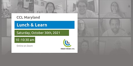 Citizens' Climate Lobby Lunch & Learn: Student Volunteer Life Balance tickets