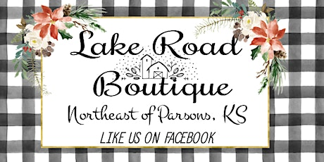 Buffalo Plaid Paint Party  SUN 12/5/21 at 2pm Lake Road Boutique, Parsons tickets