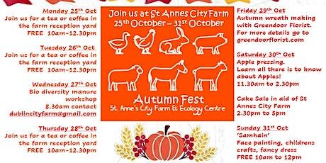 Samhain at St. Anne's City Farm tickets