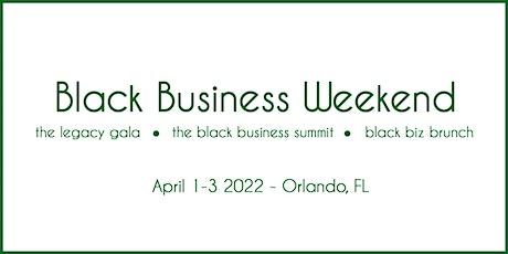 Black Business Weekend tickets