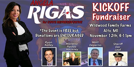 Angela Rigas for State Representative KICKOFF! tickets