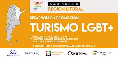 Región LITORAL :: Programa Federal Turismo LGBT+ (evento presencial) entradas