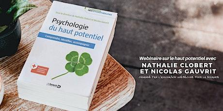 Psychologie du haut potentiel : webinaire avec les auteurs (rediffusion) billets