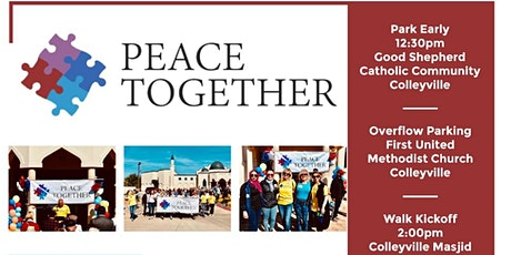 Peace Together Community Walk –2021 tickets