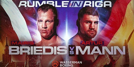 ONLINE-StrEams@!.Mairis Briedis v Artur Mann Fight LIVE ON fReE 16 Oct 2021 tickets