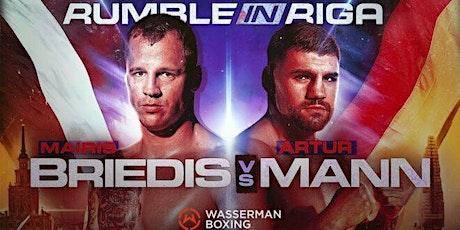 StREAMS@>! (LIVE)-Mairis Briedis v Artur Mann Fight LIVE ON fReE 16 Oct 202 tickets