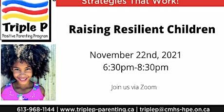 Triple P- Raising Resilient Children tickets