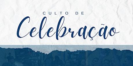 Culto de Celebração |17:30 e 19:30 ingressos