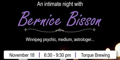An Intimate Night with Bernice Bisson tickets