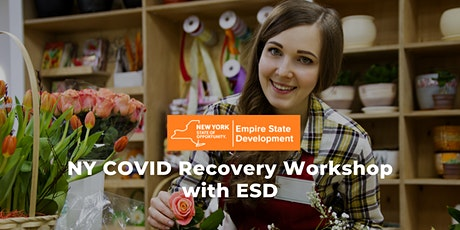 NY COVID Recovery Workshop with ESD tickets