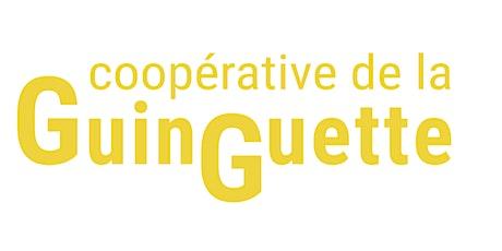 Aide au service (bénévolat) à La Guinguette tickets