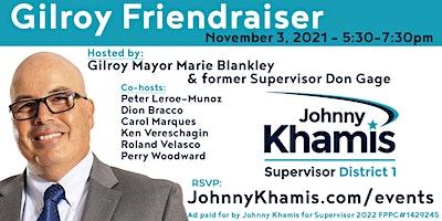 Gilroy Friendraiser for Johnny Khamis