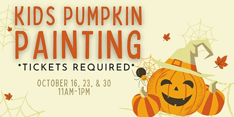 Kid's Pumpkin Painting tickets