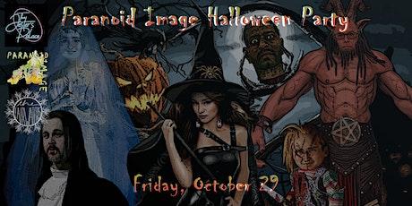 Paranoid Image - Halloween Show tickets