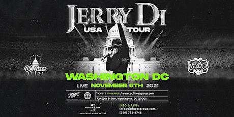 Jerry Di USA Tour Washington DC tickets