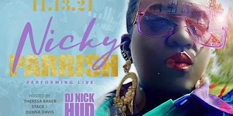 R & B SATURDAY with Nicky Parrish tickets
