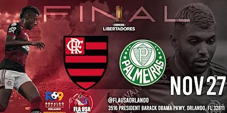 FLAMENGO X PALMEIRAS - Final Libertadores 2021 tickets