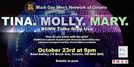 Tina. Molly. Mary.  BGMN Talks Substance Use tickets