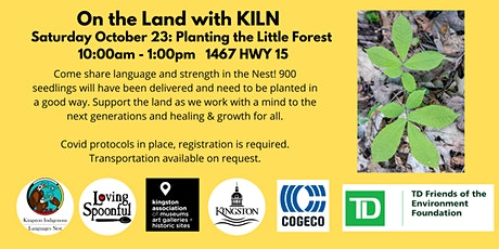 Planting the Little Forest with KILN tickets