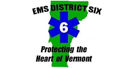 VT EMS D6 - 2021 Vermont First Responder Course tickets