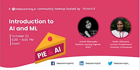 Pie & AI: සිංහලෙන්  - An Introduction to AI and Machine Learning tickets