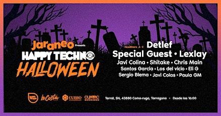 Jaraneo presenta HappyTechno Halloween 12h Festival: Detlef / Lexlay + Spec entradas