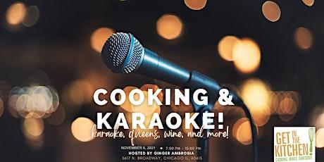 Kooking & Karaoke!: BBQ or Buffalo Chicken Stromboli Night! tickets