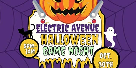 Electric Avenue Halloween Gaming Night tickets