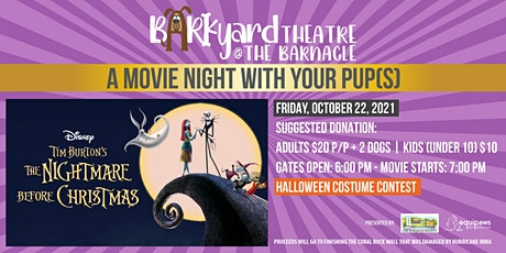 The Barkyard Theatre at The Barnacle: The Nightmare Before Christmas! tickets
