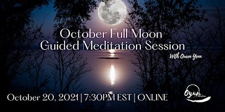 October Full Moon Guided Meditation tickets