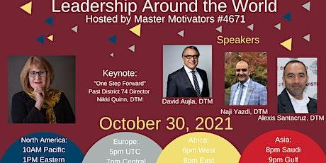 Leadership Around the World tickets
