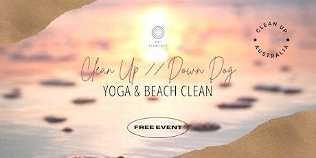 Clean Up // Down Dog ~ Charity Yoga & Beach Clean tickets