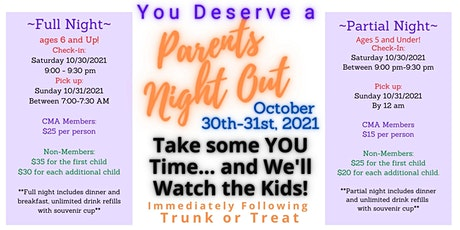 CMA Parents Night Out tickets