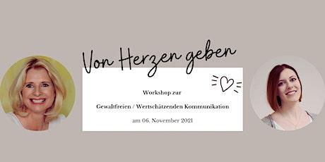 Von Herzen Geben (Workshop) Tickets