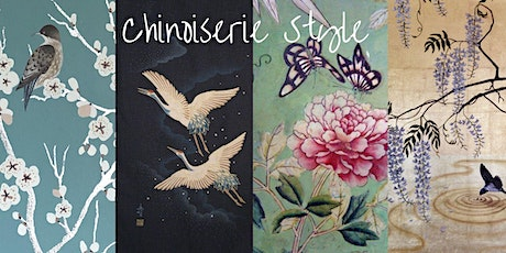 Paint a Chinoisierie Inspired Canvas tickets
