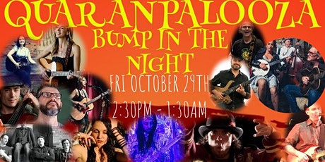 OctoBOOer 2021 QuaranPalooza Livestream Music Fest tickets
