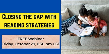 How to close the learning gap at home with reading strategies tickets