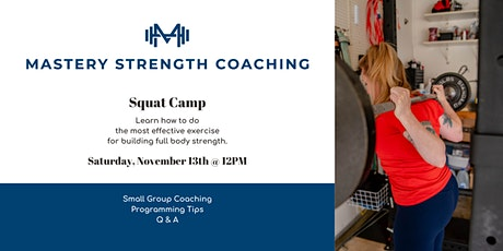 Learn to Squat tickets