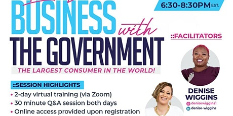 Getting Your Business Certified to do Business with the Government tickets