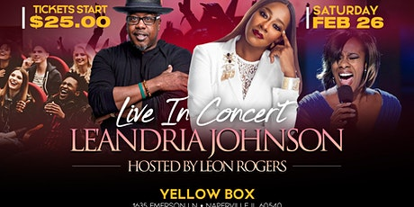 West Suburbs LAUGH&PRAISE TOUR LIVE IN CONCERT LE'ANDRIAJOHNSON&LEON ROGERS tickets
